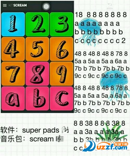 superpads aee you again数字谱下载|superpads