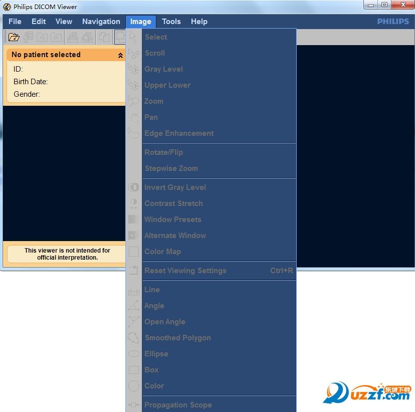 philips dicom viewer 3 0下载|dicom看图软件(Philips DICOM