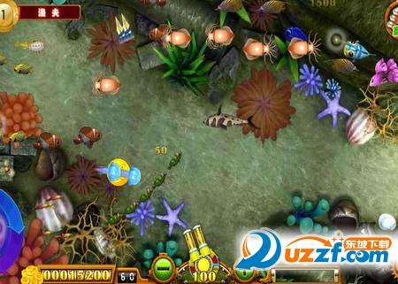 游戏中玩家通过发射炮弹进行捕鱼,不同的炮弹造成的威力也不同.