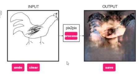 edges to cats pix2pix图片处理软件截图