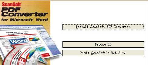 ScanSoft PDF Converter(PDF转换工具)截图1
