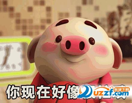 大全 高清无水印版  猪小屁是最近超级火的一款动图表情包,萌萌的小猪图片