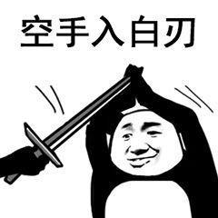 招式熊猫人武武术图片下载|熊猫表情术黑白精神病搞笑图片成的图片