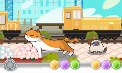 是takoforce打造的一款音乐节奏游戏,日式卡通风格,游戏的主角是猫咪