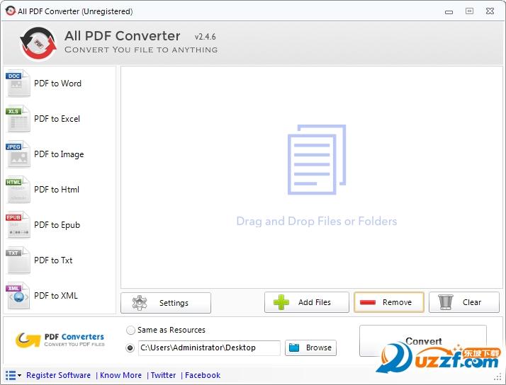 All PDF Converter(全能pdf转换器)截图1