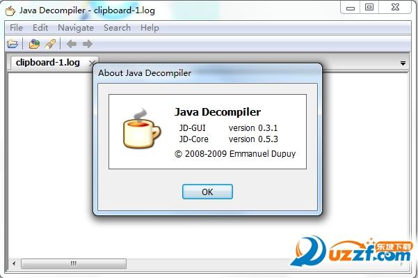 class文件的反编译工具jd-gui截图1