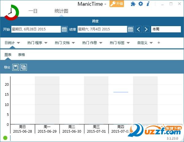 时间管理软件(ManicTime)截图1