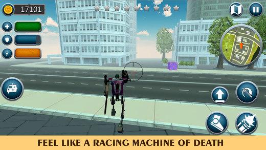 机械自行车机器人截图