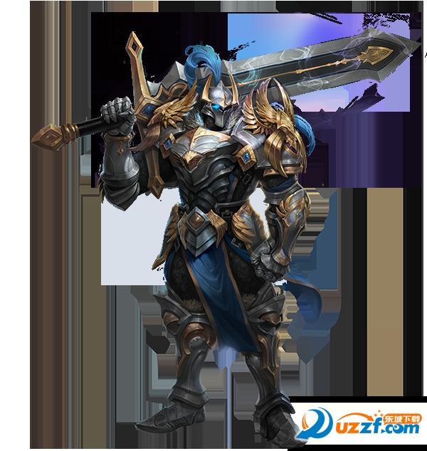比起眼花缭乱的花式剑招,他更愿意手持巨剑,冲锋在前,保护同伴.