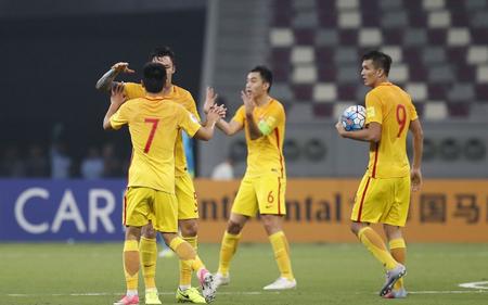 2018世界杯预选赛国足2:1胜卡塔尔直播全场回