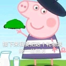 电风吹猪搞笑表情怕我表情个了瞎子包是图片
