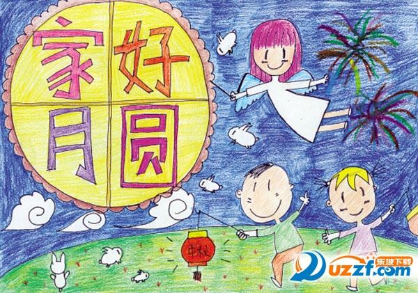 幼儿国庆中秋画报手工制品图片大全高清无水印版