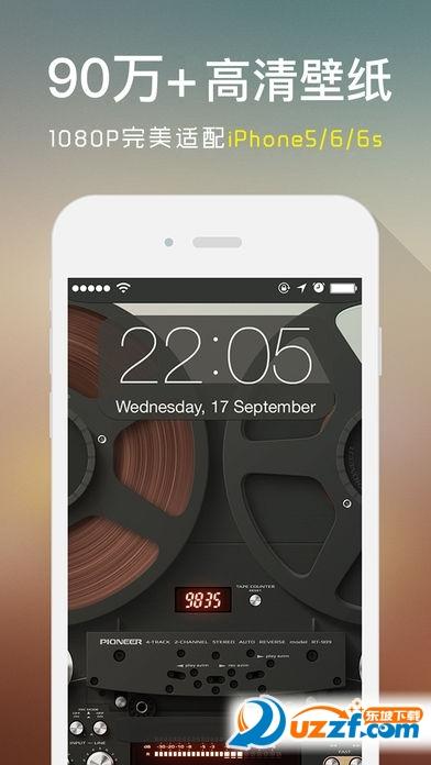 iphoneX原装壁纸锁屏主题壁纸截图