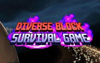 不同区块生存游戏