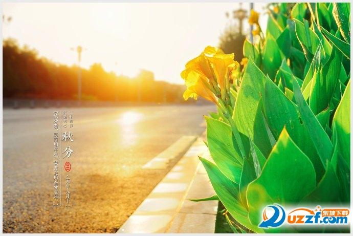 秋分节气图片简笔画2017