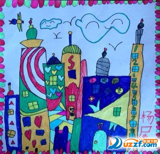 小学生国庆节画画图片大全