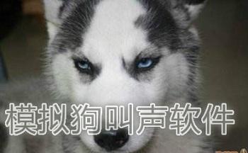 狗叫模拟器软件_模仿狗叫的声音软件