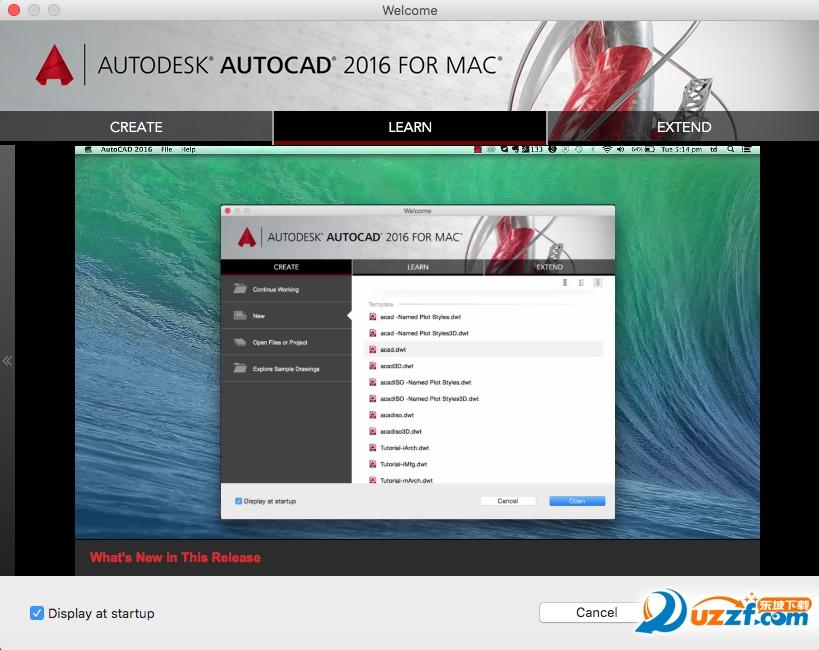 AutoCAD 2016 mac官方版截图2