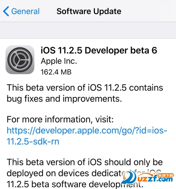 iOS11.2.5beta6公测版固件及描述文件截图0