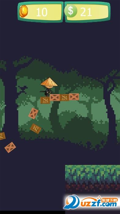 忍者跑酷忍者跳跃游戏截图