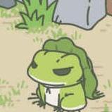 旅行青蛙动图表情图片