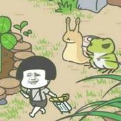 蘑菇头旅行青蛙系列表情包大全
