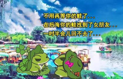 不用再等你的蛙了表情图片截图0