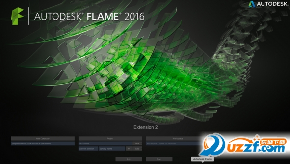 Autodesk Flame 2016 mac 版截图0