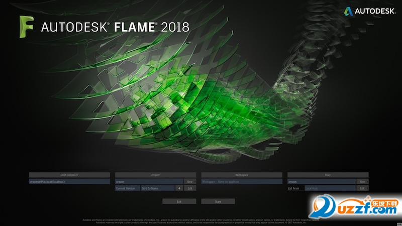Autodesk Flame 2018 mac正式版截图0