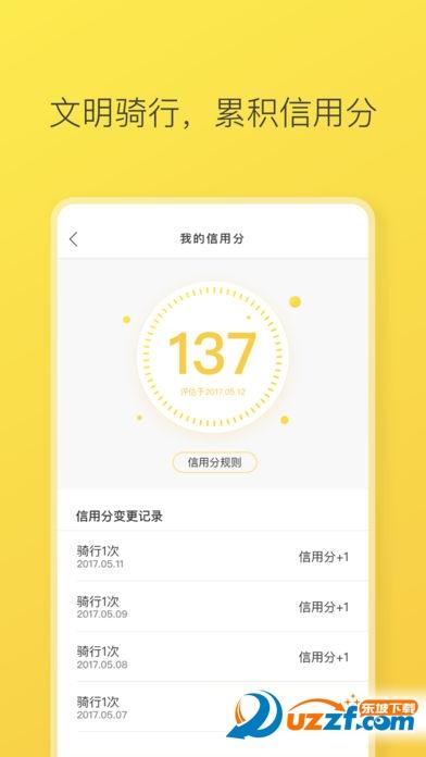 ofo小黄车app苹果版截图