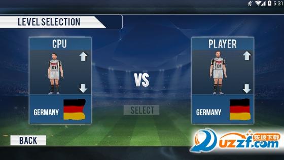 职业足球联赛明星2018游戏截图