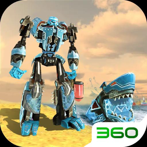 变形机器鲨3D1.0 安卓版