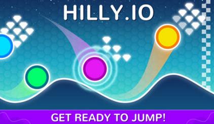 Hilly.io游戏(飞跃山丘)
