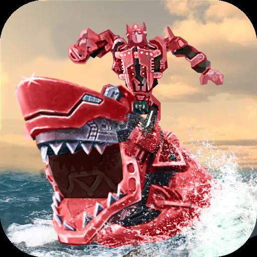 雷龙出击3D机器鲨手游