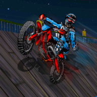 自行车特技驾驶游戏