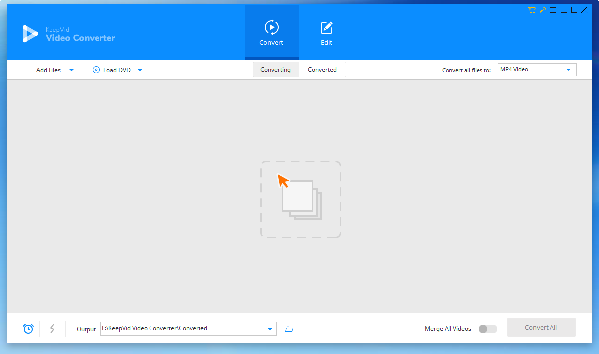 KeepVid Video Converter免费版截图1