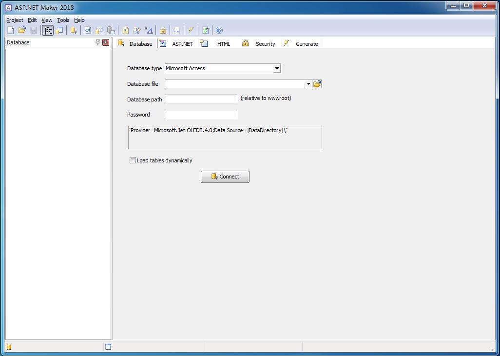 ASP.NET代码生成工具截图0