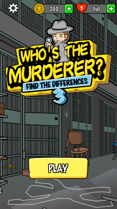 找出凶手手游(Find The Differences Who s the murderer)截图