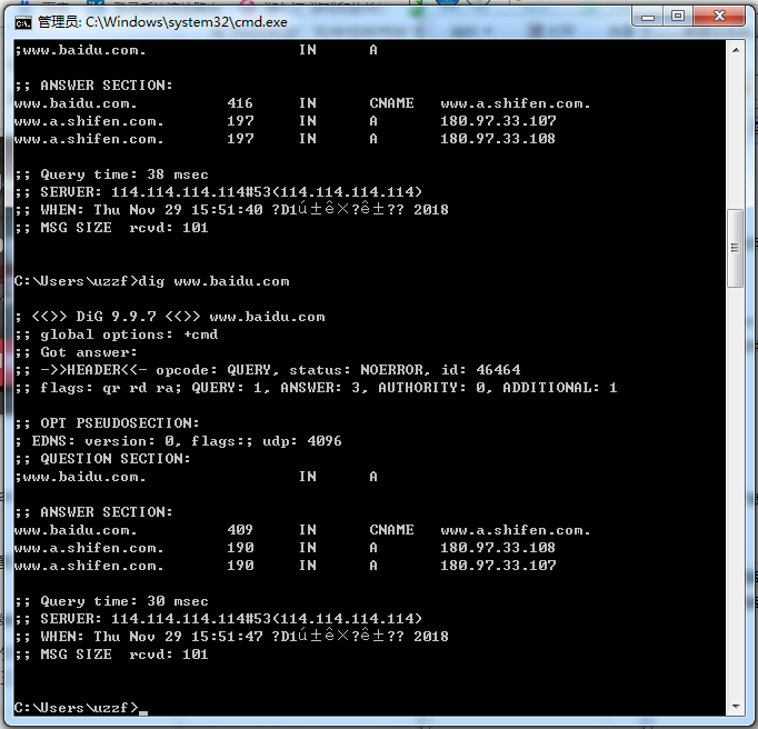 dig(nslookup同类工具)截图0