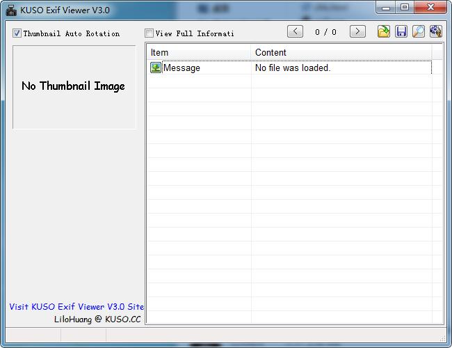 KUSO Exif Viewer(exif信息查看器)截图0