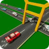 公路交通车辆冲锋线(Highway Traffic Car Dash)