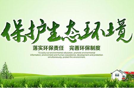 自然环境电子小报模板