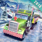 圣诞爬山卡车驾驶手游(Chrismas Hill Climb Truck Driving)