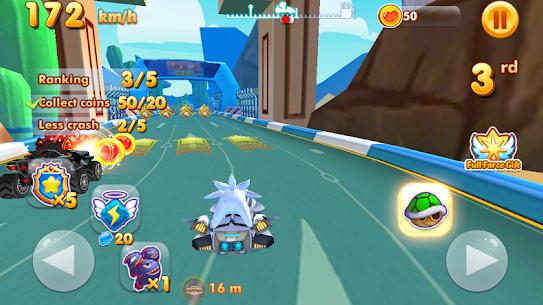 超音速卡丁车赛车手游(Ultra Sonic Speed: Kart Racing)截图