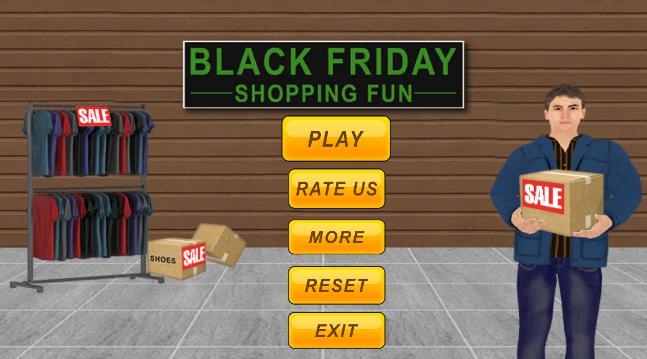 黑色星期五购物乐趣手游(Christmas Sale Shopping Fun)截图
