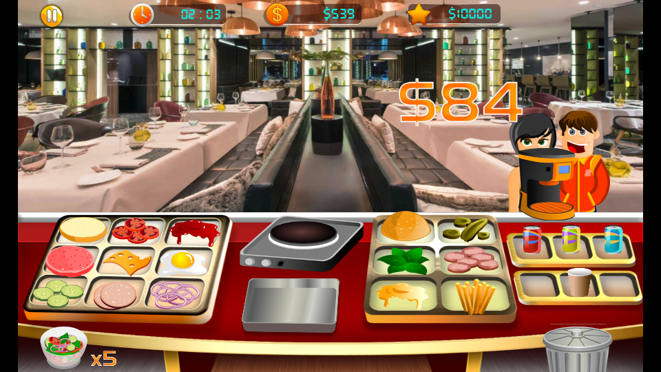 豪华汉堡餐厅(Deluxe Burger Restaurant)截图