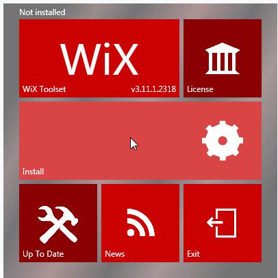 WiXToolset打包工具截图0