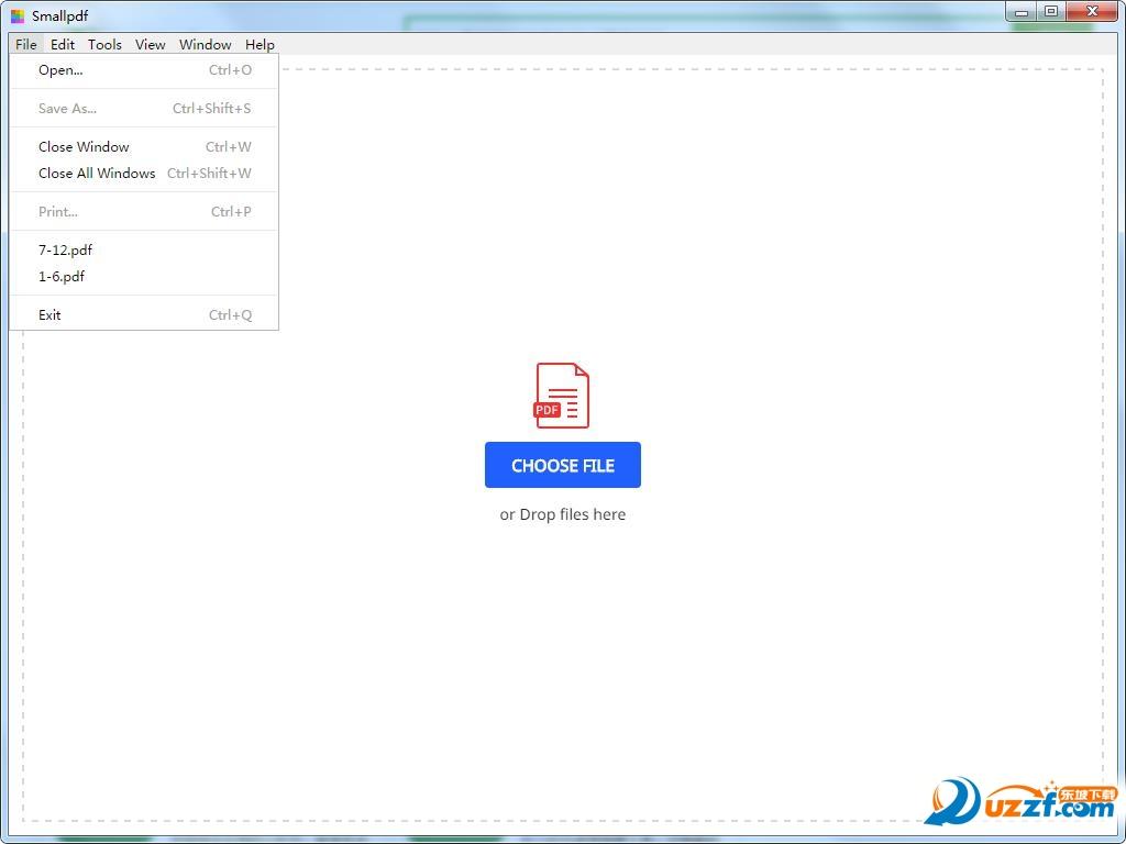 Smallpdf桌面版截图1