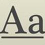 长城行书体字体
