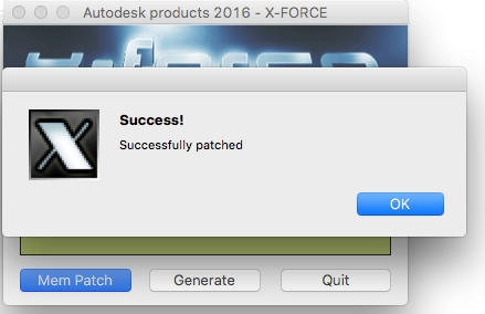 autodesk 2016 x force2016注册机for mac截图1